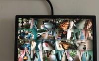 义乌监控案例幼儿园防爆摄像头安装
