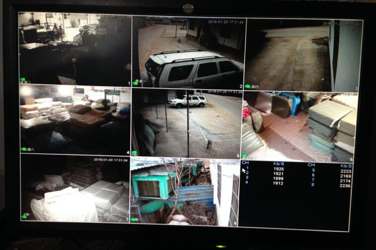 义乌和东阳廿三里何宅监控安装案例
